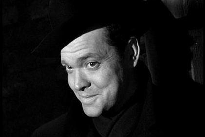 Orson wells as Harry Lime